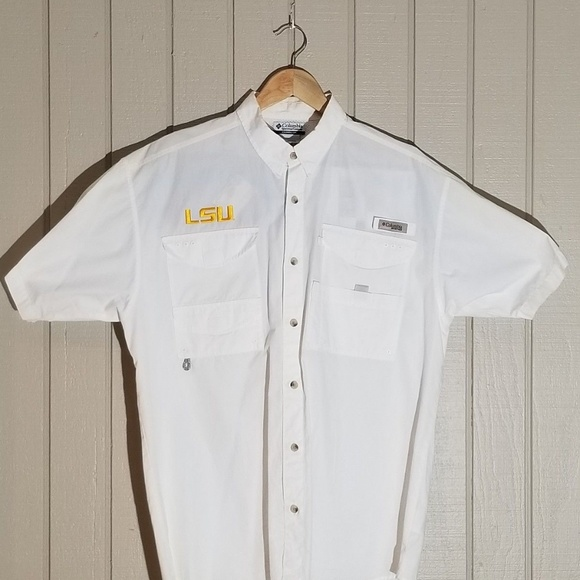 fd87825cb44e6 Columbia Other - LSU Tigers Columbia PFG LS Shirt